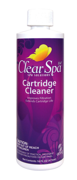 ClearSpa 104 Cartridge Cleaner - 16 oz  -  CSLCCPT12