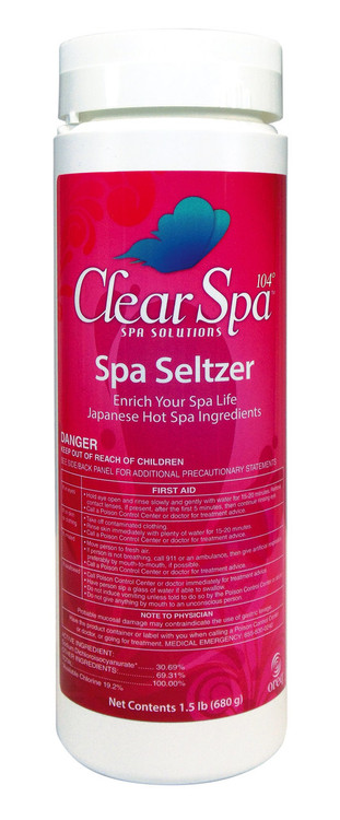 ClearSpa 104 Spa Seltzer - 2 lb  -  CSSS002