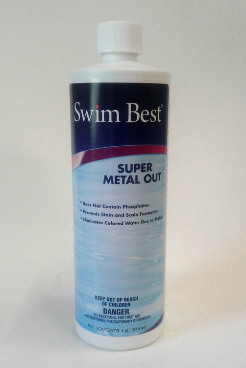 Swim Best Super Metal Out - 1 qt