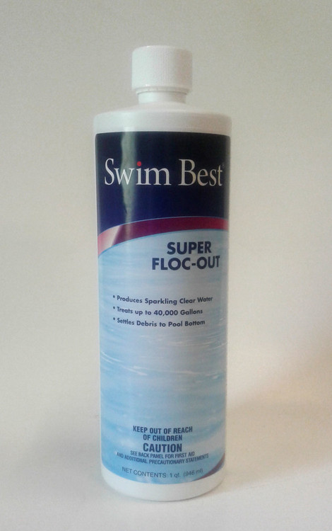 Swim Best Super Floc-Out - 1 qt