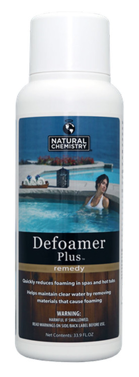 Natural Chemistry Spa Defoamer Plus - 33.9 oz  -  04212