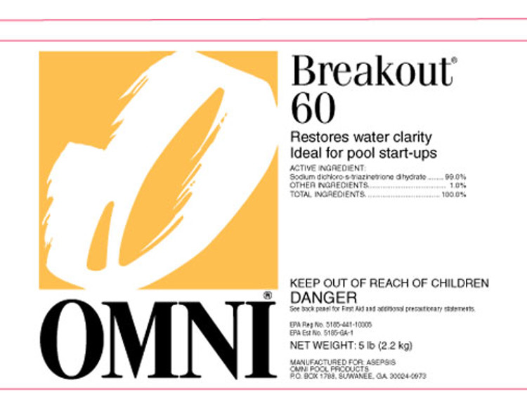 Omni Breakout 60 - 1 lb  -  22160OMN