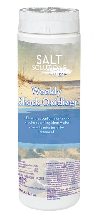 Salt Solutions by Ultima Weekly Salt Shock Oxidizer - 2.2 lb