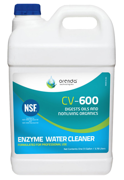 Orenda CV-600 Catalytic Enzyme Water Cleaner, gal  -  50134