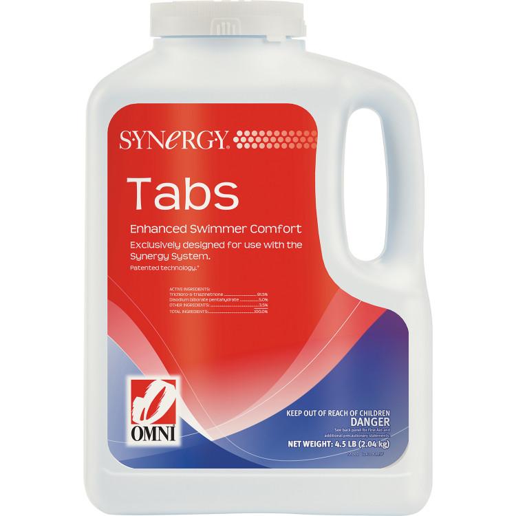 Synergy Tabs - 4.5lb   24309OMN