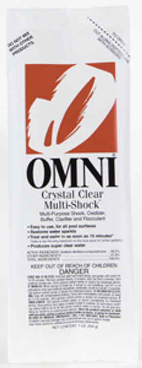 Omni Crystal Clear Multi-Shock - 36 x 1 lb  -  23032-6