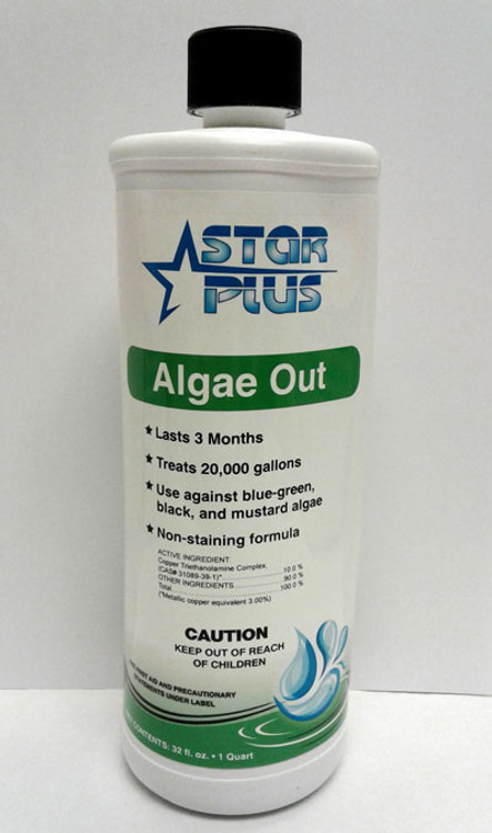 Star Plus Copper Algaecide - 1 qt