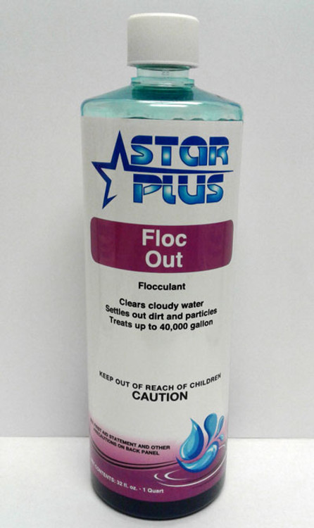 Star Plus Floc Out flocculant - 1 qt