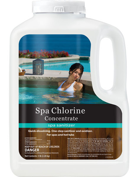 Natural Chemistry Spa Chlorine Concentrate Granular - 5.0 lb 14223NCM