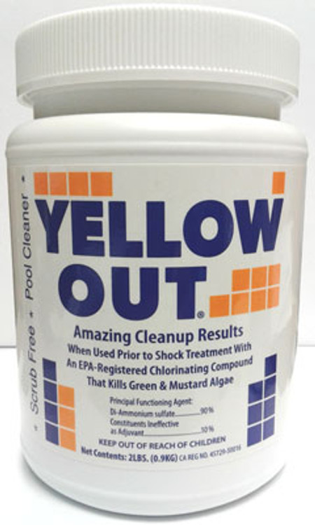 Coral Seas Yellow Out - 2 lb  -  07612