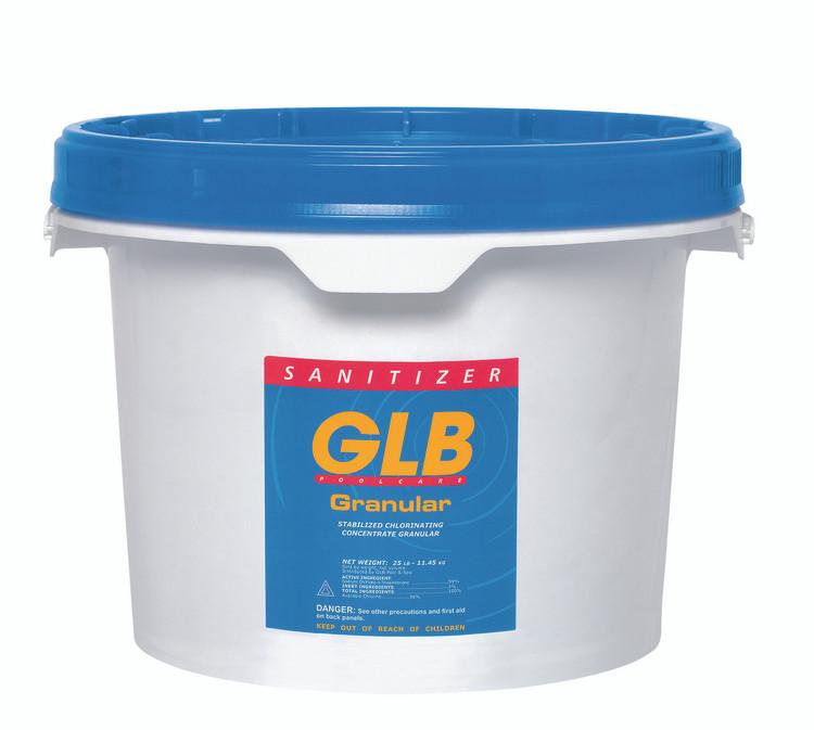 GLB Granular Dichlor stabilized chlorine - 25 lb