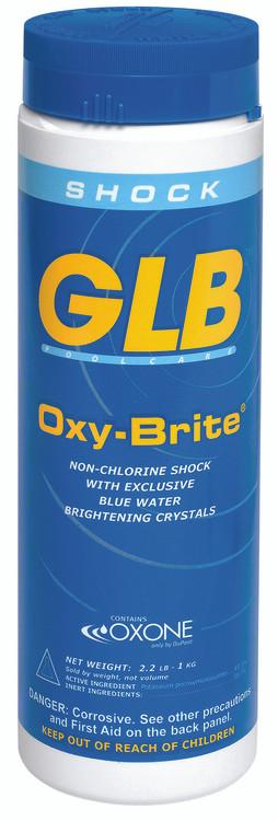 GLB Oxy-Brite non-chlorine shock oxidizer -  2.2 lb