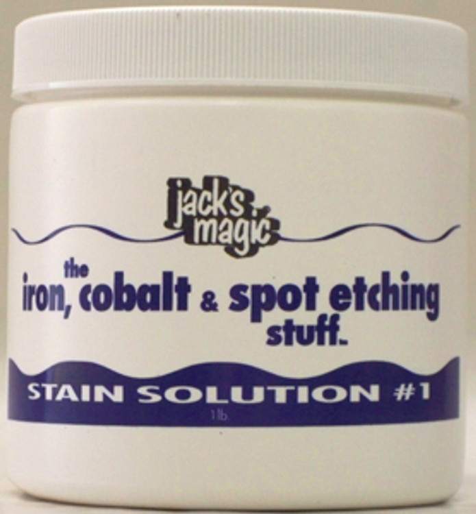 Jack's Magic The Iron Cobalt & Spot Stuff - 1lb  -  IRON1