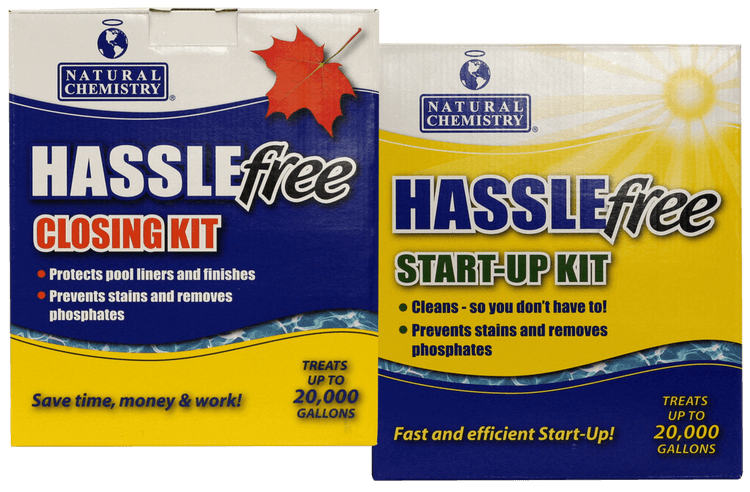 Natural Chemistry HASSLEFree Start Up / Closing Kit  -  08002
