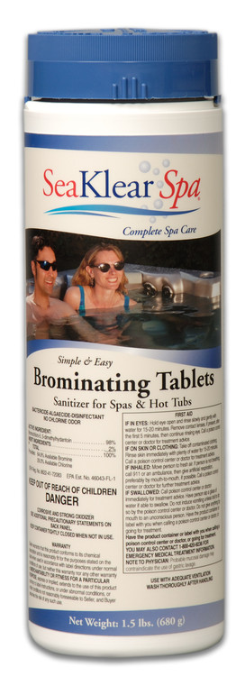 SeaKlear Spa Brominating Tablets - 1.5lb - 1140001