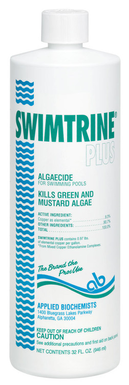 Applied Biochemists Swimtrine Plus algaecide  -  1 pt  -  406106