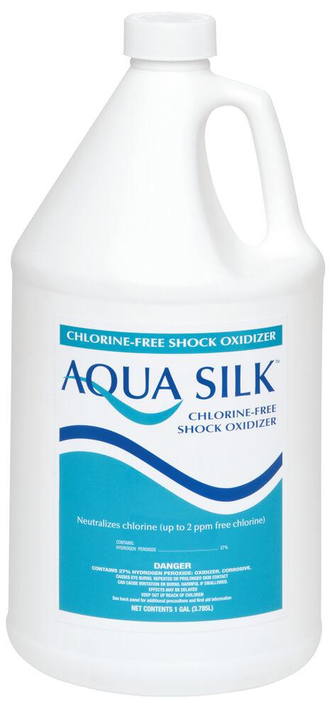 Aqua Silk Chlorine Free Shock Oxidizer 4x1 Gal Mkm Pool Spa