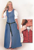 Country Dress-Woad