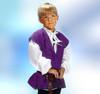 Child's Commoner's Vest in Purple