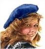 Muffin Cap in Majestic Blue