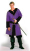 Twill Horseman's Tunic in Purple