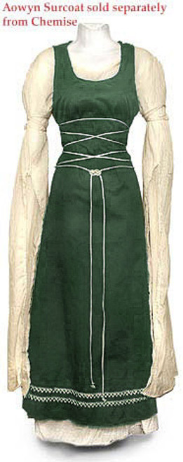 Aowyn Chemise in natural with a surcoat