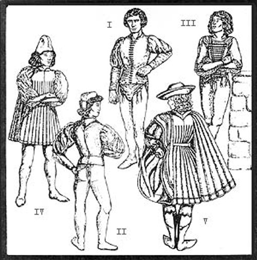 Italian Renaissance Patterns for Men
