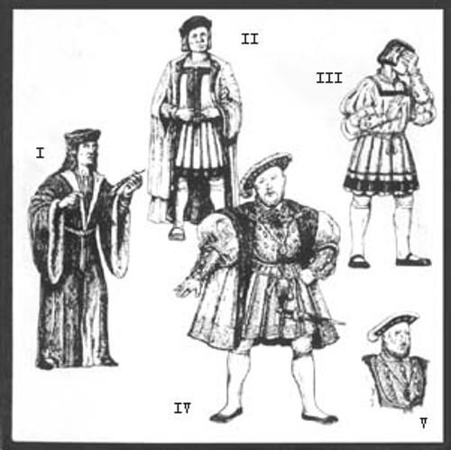 Early Tudor Patterns for Men