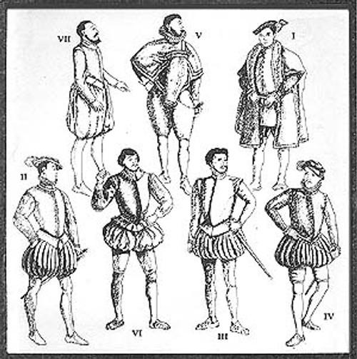 Late Tudor Patterns for Men (Elizabethan)