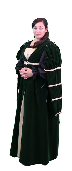 The Verona Over Gown with Sleeves