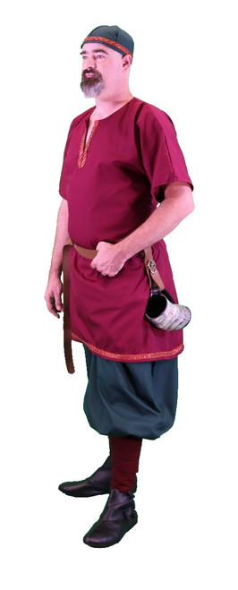Viking Tunic with Trim