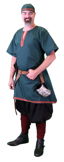 Viking Tunic with Trim