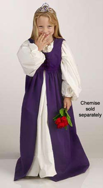 Girls' Irish Dress-Purple
