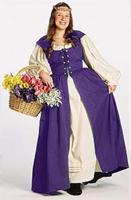 Irish Dress-in Purple