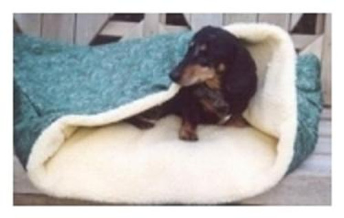 Designer Sleep Sack Dog Bed