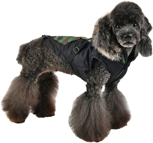 Winter Fleece Harness Jumper Jacket