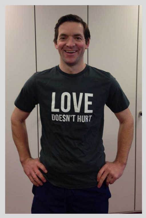 Love Doesn't Hurt T-Shirt (LDH-M1)