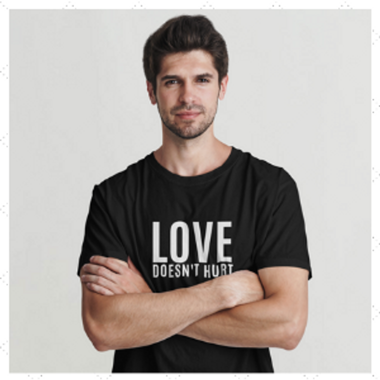 Love Doesn't Hurt T-Shirt (LDH-M1)