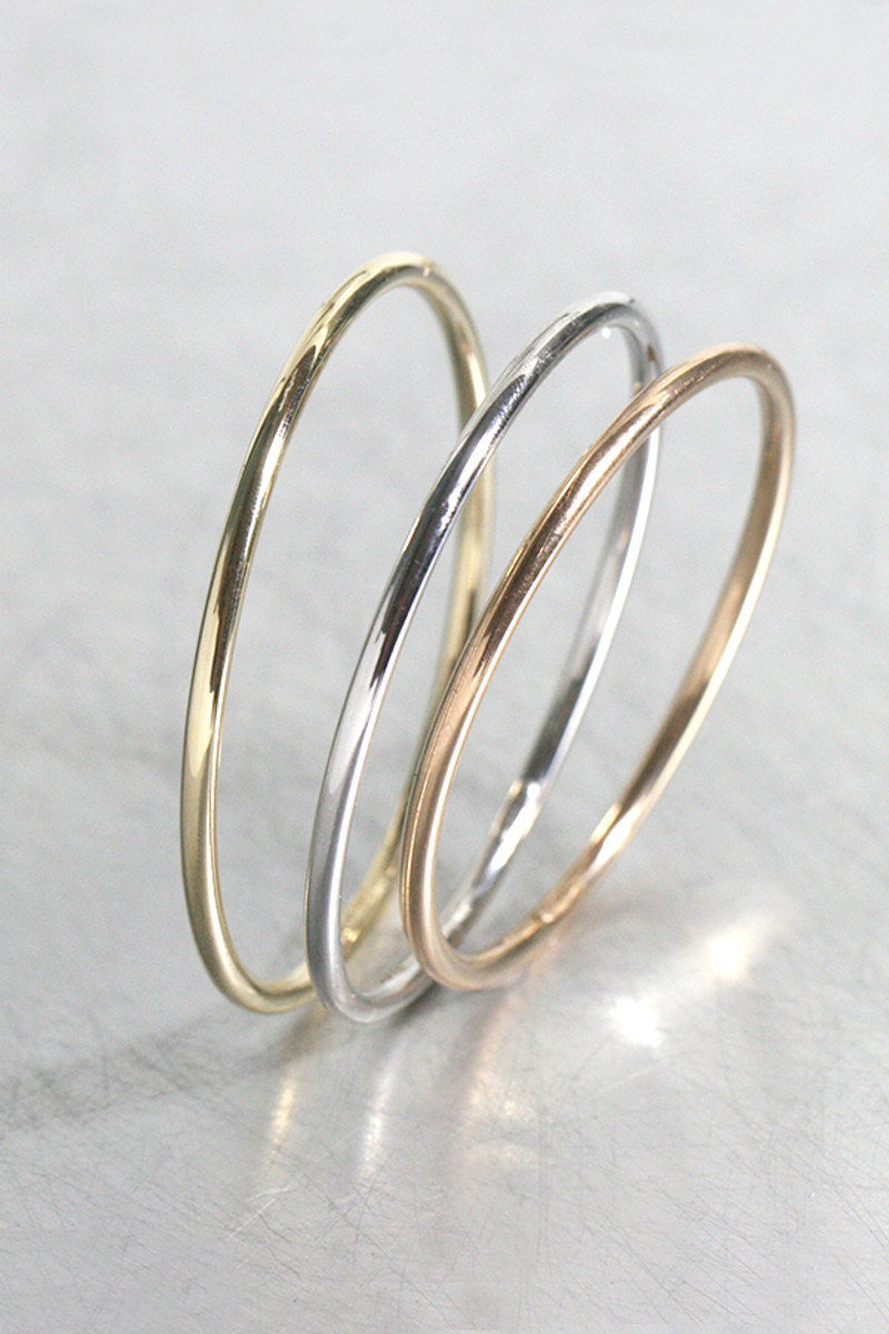 Aooaz Gold Plated Bracelet Women Girl Round Bangle Bracelet Wedding Party Gift