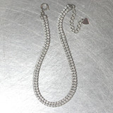 Signity Double Tennis Bracelet Sterling Silver from kellinsilver.com