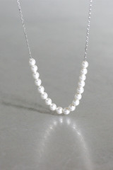 Swarovski Pearl Necklace Sterling Silver from kellinsilver.com