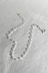 CZ Bitty Chain Bracelet Sterling Silver from kellinsilver.com