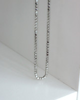 Sterling Silver Cube Necklace from kellinsilver.com