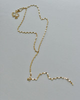 Gold Drawn Anchor Y Necklace Sterling Silver from kellinsilver.com