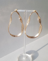 Hammered Geometric Drop Earrings from kellinsilver.com
