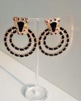 Orion Double Ring Earrings from kellinsilver.com