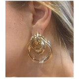 Bold Multi Hoop Earrings from kellinsilver.com
