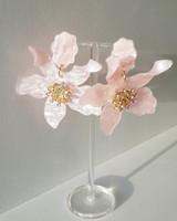 Paper Lily Earrings