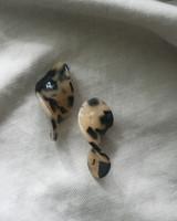 Effie Acrylic Tortoise Earrings from kellinsilver.com