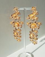 Blossom Drop Earrings in Gold on kellinsilver.com